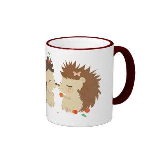 Hedgehogs mug