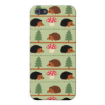 Hedgehogs, Mushrooms and trees Cases For iPhone 5