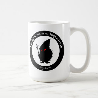 Hedgehogs of the Inquisition Classic White Coffee Mug