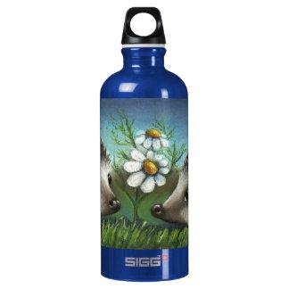 Hedgehogs on a date SIGG traveler 0.6L water bottle