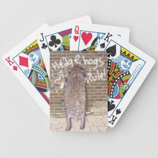 Hedgehogs Rule! Poker Cards