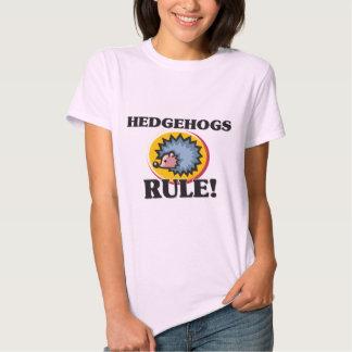 HEDGEHOGS Rule! Tee Shirts