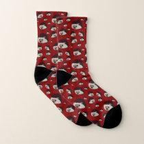Hedgehogs Socks (Red)