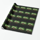 hedgehogs wrapped paper wrapping paper