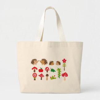 hedgehogsBall Jumbo Tote Bag