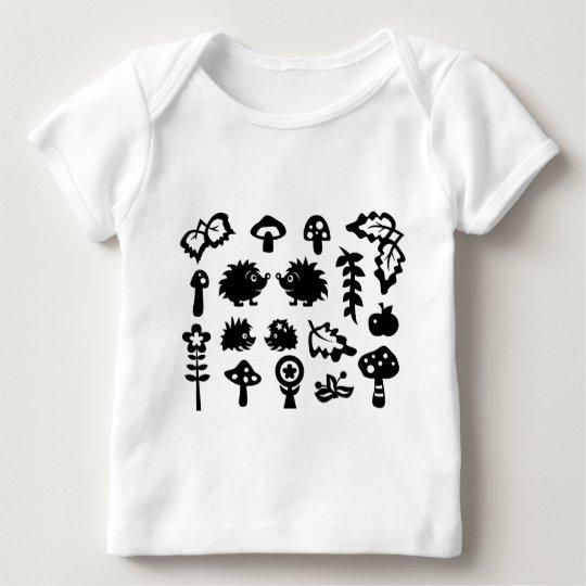HedgehogSilhouetteAll Baby T-Shirt
