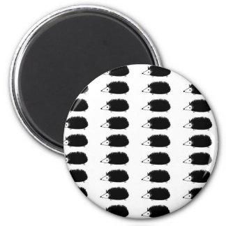 hedgehogy 2 inch round magnet