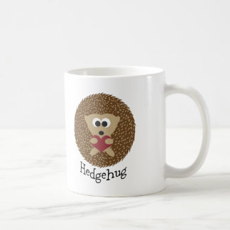 Hedgehug Hedgehog Coffee Mug