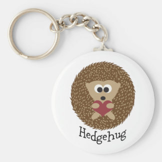 Hedgehug Hedgehog Keychain