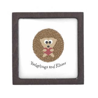 Hedgehugs and Kisses Hedgehog Jewelry Box