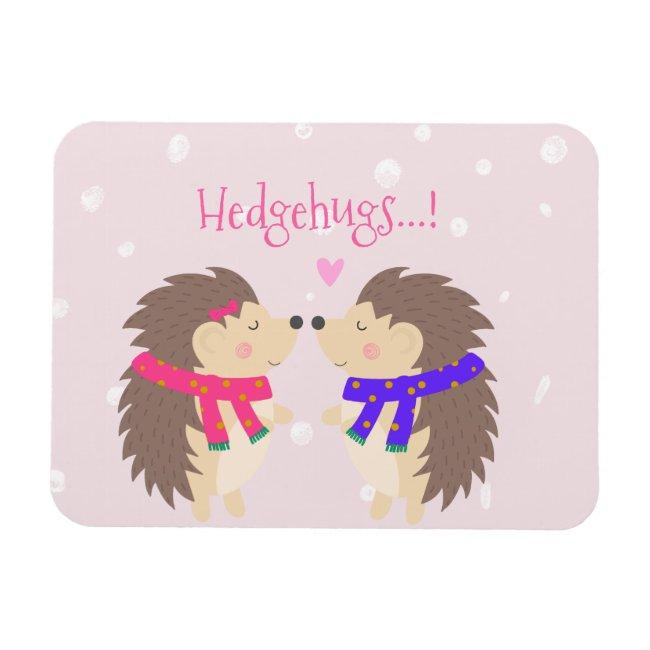 Hedgehugs! Cute Hedgehog Christmas