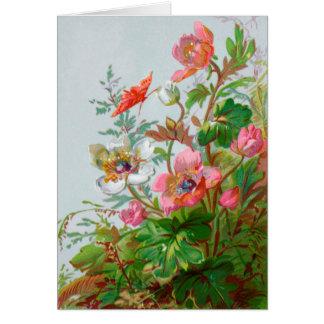 Hedgerow Garden Greeting Card