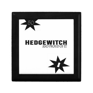 Hedgewitch and Proud of It Keepsake Box
