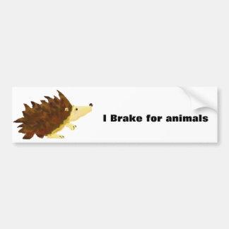 Hedgie Bumper Sticker
