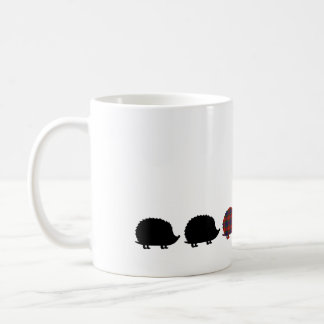 Hedgie Parade Classic White Coffee Mug