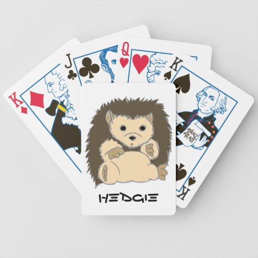 Hedgie Playing Cards