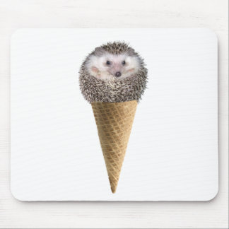Hedgie Scoop Mouse Pad