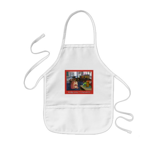 Hedgy Goes To Preschool! Kids' Apron