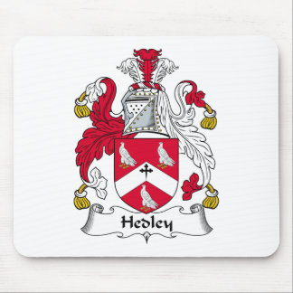 Hedley Family Crest Mouse Pad