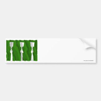 Hedmark waving flag bumper sticker