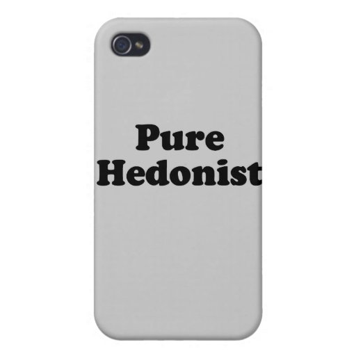 Hedonist.png puro iPhone 4 cárcasa