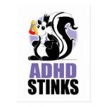 Hedores de ADHD Tarjeta Postal