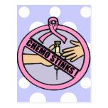Hedores de Chemo del cáncer de pecho Postal