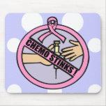 Hedores de Chemo del cáncer de pecho Tapetes De Ratón