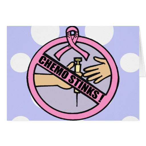 Hedores de Chemo del cáncer de pecho Tarjeta