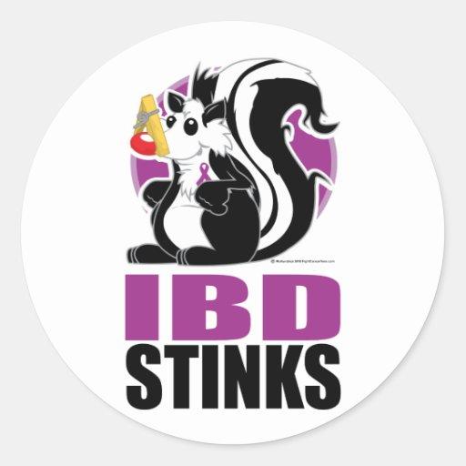 Hedores de IBD Pegatina Redonda