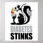 Hedores de la diabetes posters