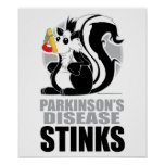 Hedores de la enfermedad de Parkinson Poster