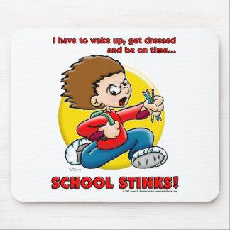 Hedores de la escuela mouse pad