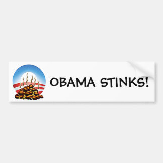 Hedores de Obama Pegatina Para Auto