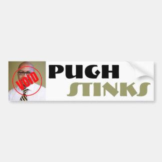 Hedores de Pugh Pegatina Para Auto