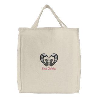 Hedores del amor bolsa de lienzo