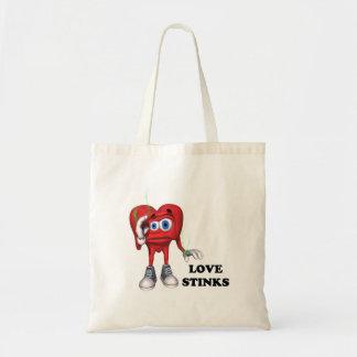 hedores del amor bolsas lienzo