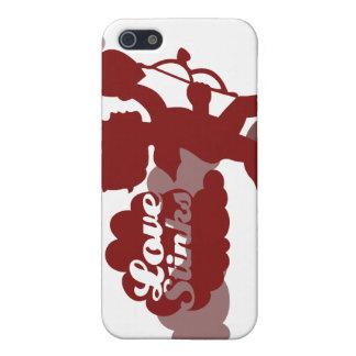 hedores del amor del Cupid del día de las anti-tar iPhone 5 Carcasa