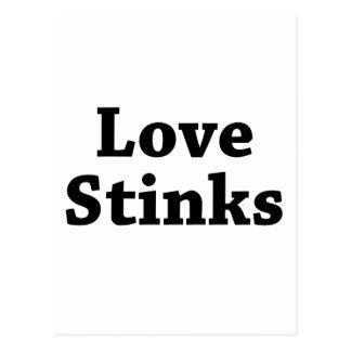 Hedores del amor postales