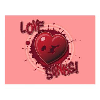 ¡Hedores del amor! Tarjeta Postal