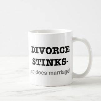 ¡Hedores del divorcio - hace tan boda! Taza