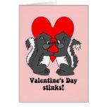 Hedores del el día de San Valentín Felicitacion