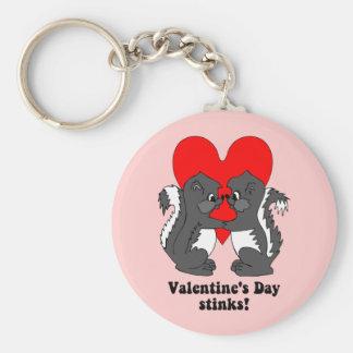 Hedores del el día de San Valentín Llavero Redondo Tipo Pin