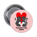 Hedores del el día de San Valentín Pin