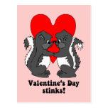 Hedores del el día de San Valentín Postales