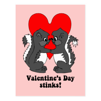 Hedores del el día de San Valentín Tarjetas Postales