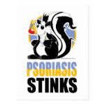 Hedores del psoriasis postales