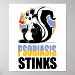 Hedores del psoriasis poster