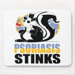 Hedores del psoriasis tapete de ratones