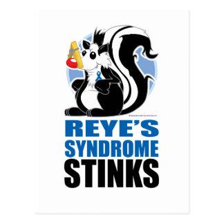 Hedores del síndrome de Reye Postal
